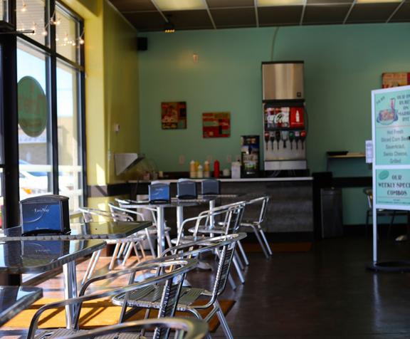 Restaurant Cafe Epoxy Floor