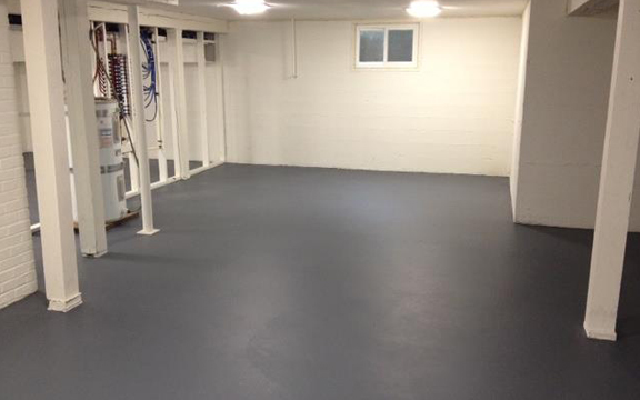 Basement Epoxy