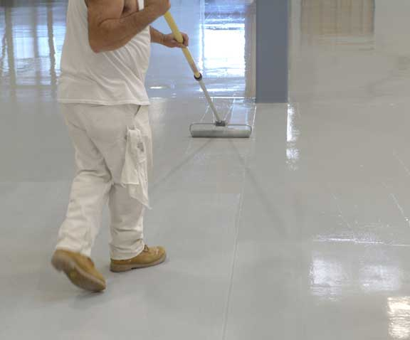 industrial epoxy flooring Riverside